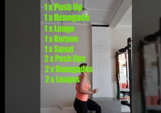 DIY Ladder Workout - Try this Bodyweight Burner! 8