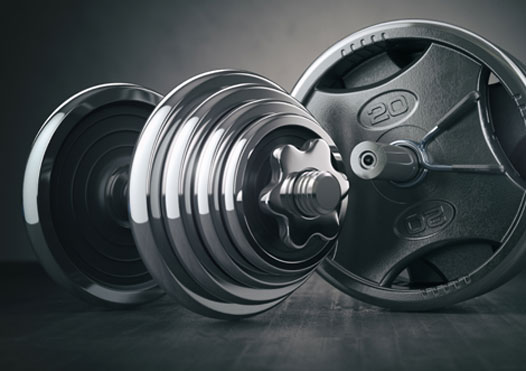 Functional Workout using only a Weight Plate 5