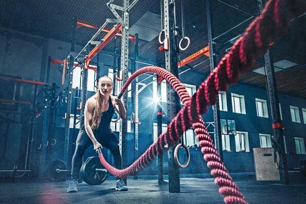 Try This Battle Rope Finisher! 4