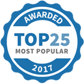 Awarded Top 25 most Popular Coaches 2017