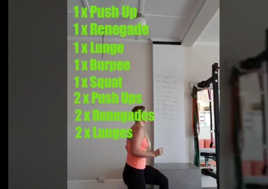 DIY Ladder Workout – Try this Bodyweight Burner!